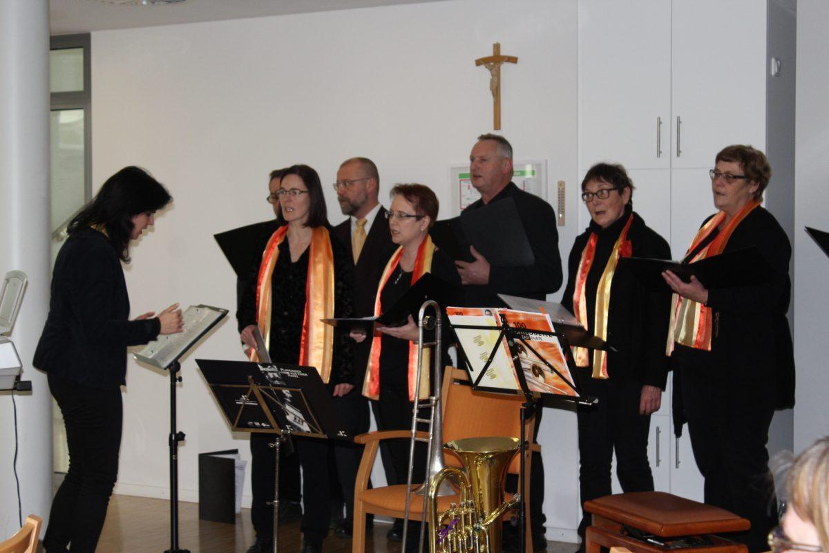Chor aus Walkersaich zu Besuch