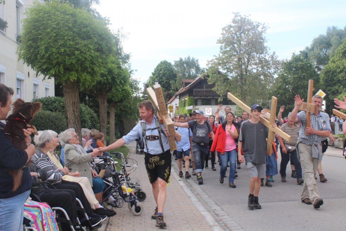 Pilgerzug aus München
