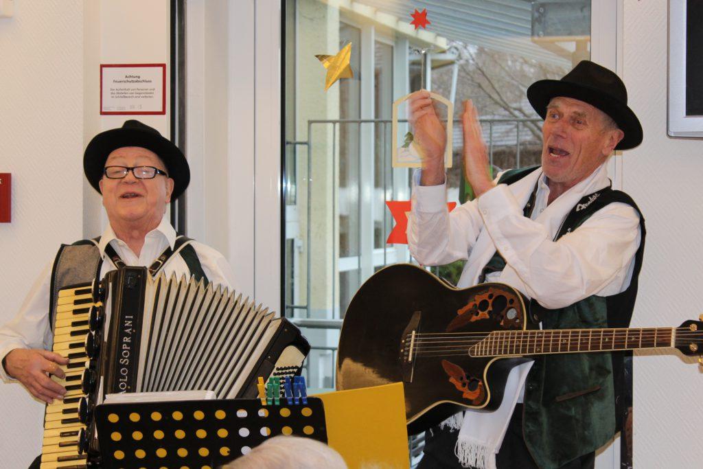 Silvesterfeier mit Hans und Ludwig