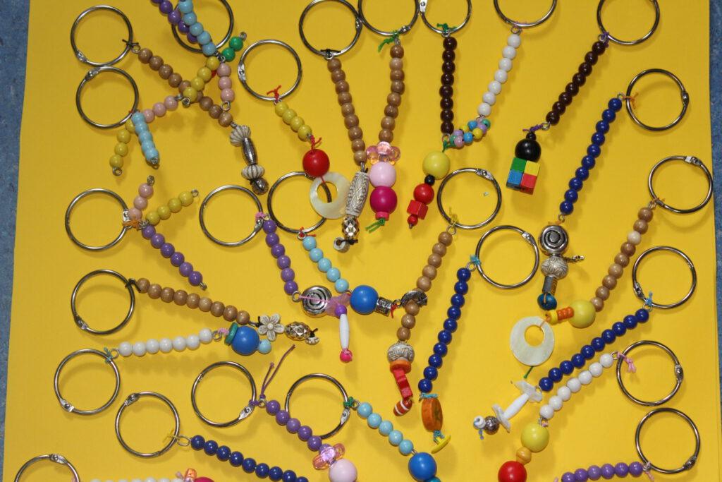 Schlüsselanhänger für die Schulkinder